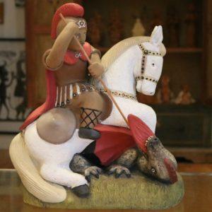 Nesta terça é celebrado o Dia de São Jorge, o santo guerreiro