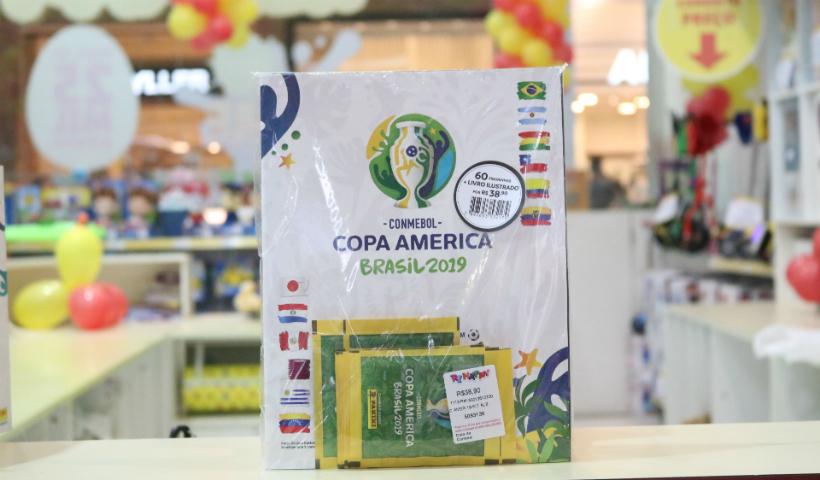 Campeonato de futebol da América do Sul já tem álbum de figurinhas