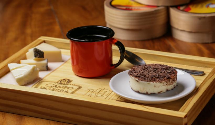 Circuito do Café: Campo da Serra harmoniza com queijo