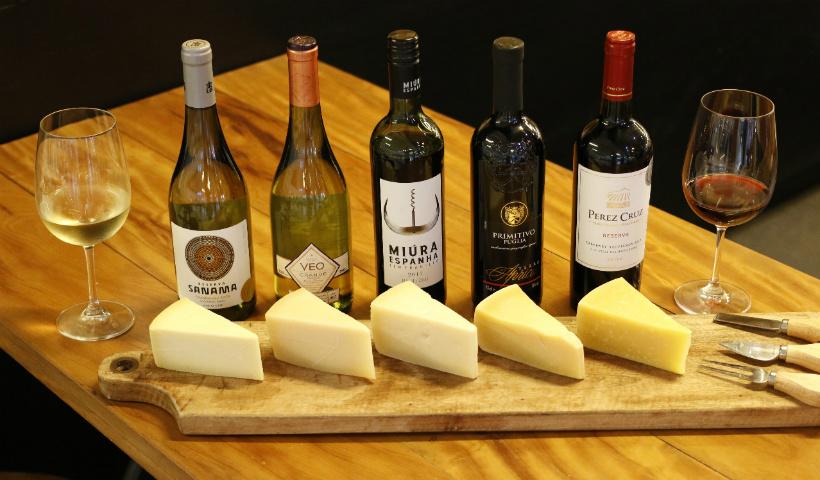Campo da Serra: harmonização entre queijos, vinhos e chocolates