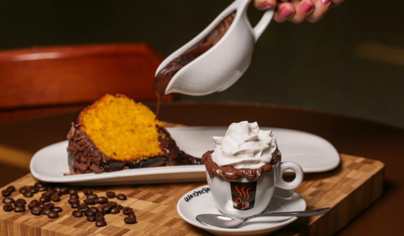 Circuito do Café: delicioso Bolo de cenoura na Grão Espresso
