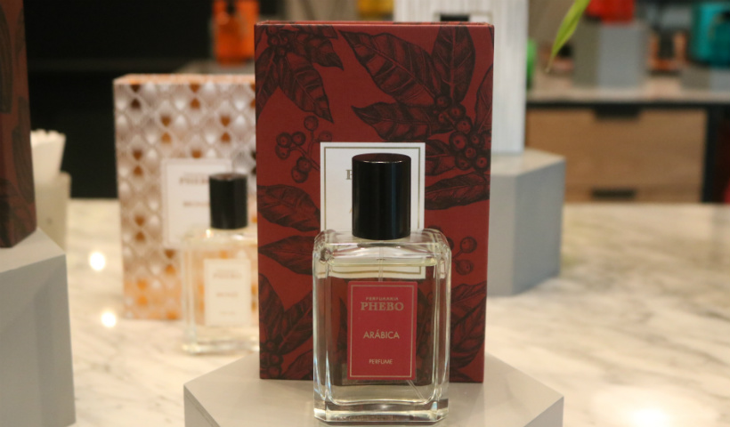 Fragrância nova da Perfumaria Phebo traz o café como inspiração