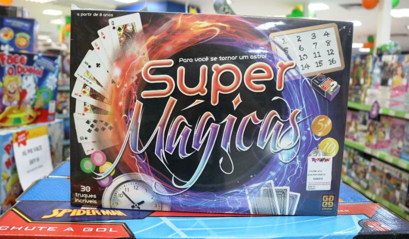 Jogos de mágicas para a criançada aprender truques divertidos