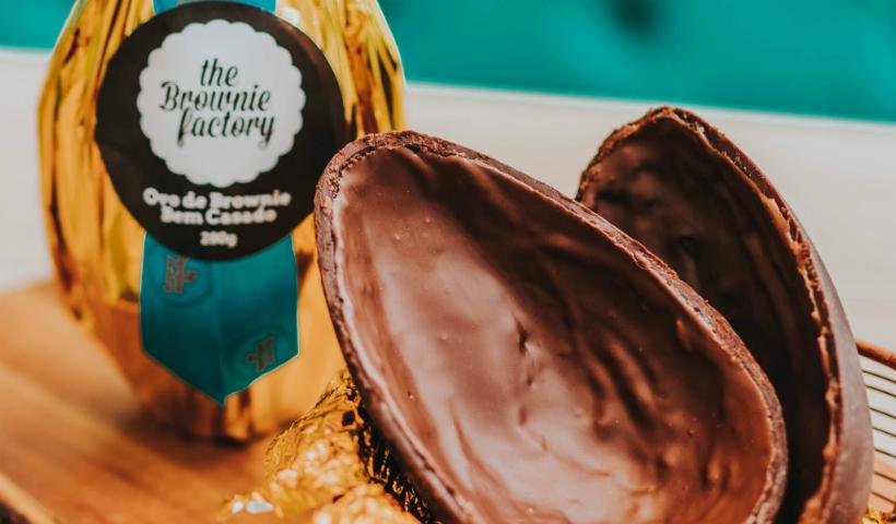 The Brownie Factory lança ovos de brownie para a Páscoa