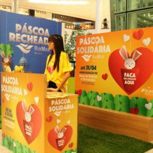 Páscoa Solidária RioMar recebe doações de chocolates
