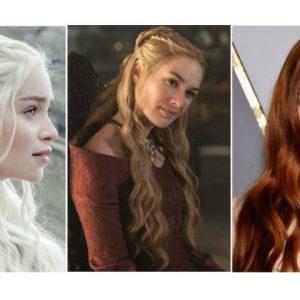 Do platinado ao ruivo, cabelos de Game of Thrones inspiram mulheres