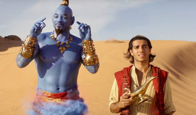 """""""Aladdin"""" estreia no Cinemark"""