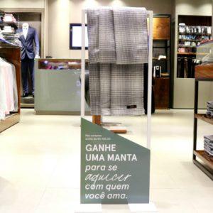 Aramis oferece manta em promoção do Dia dos Namorados