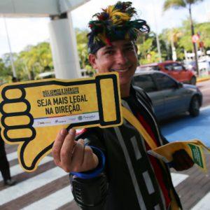 RioMar Recife recebe campanha Maio Amarelo
