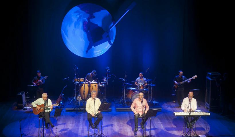 MPB4 comemora 50 anos com show no Teatro RioMar