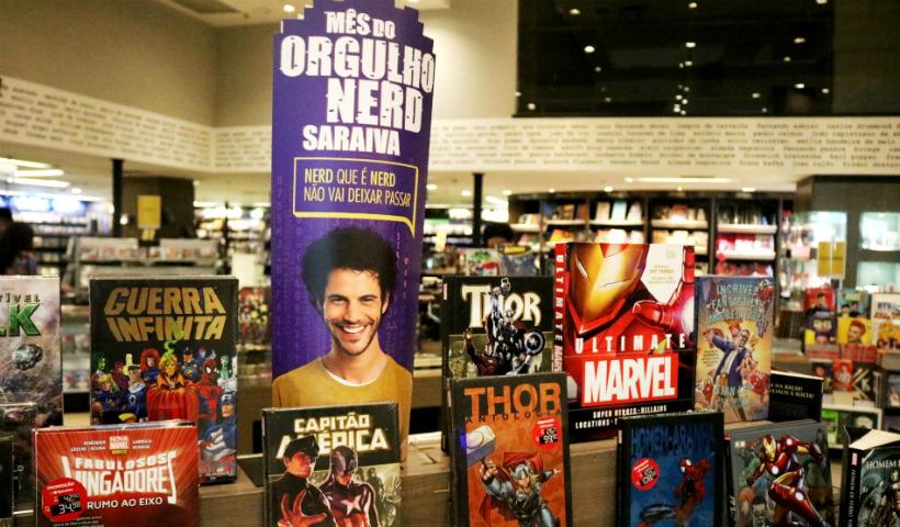 """Saraiva: """"Mês do Orgulho Nerd"""" com descontos nos produtos geek"""