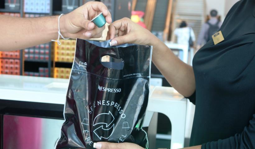 Reciclagem das cápsulas Nespresso incentiva sustentabilidade