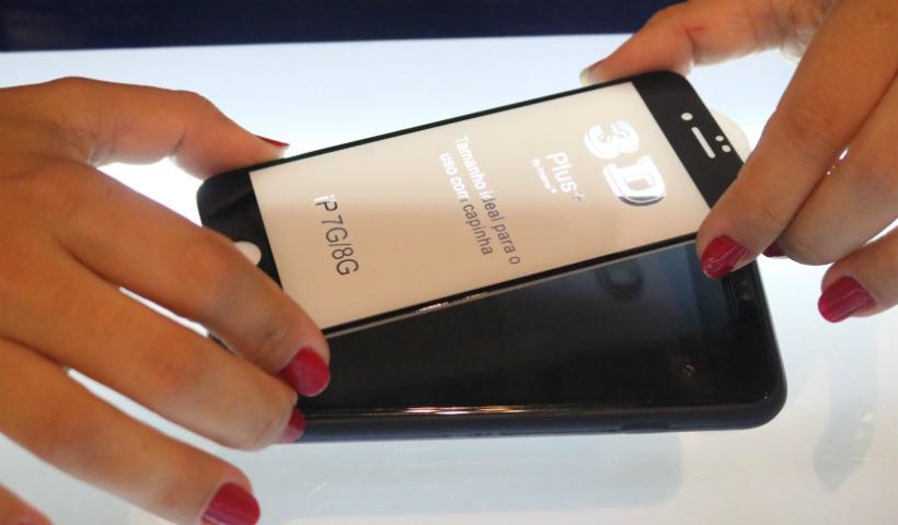 Películas para proteção dos smartphones