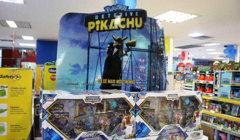 Jogos 'Pokemon: Detetive Pikachu' conquistam os pequenos
