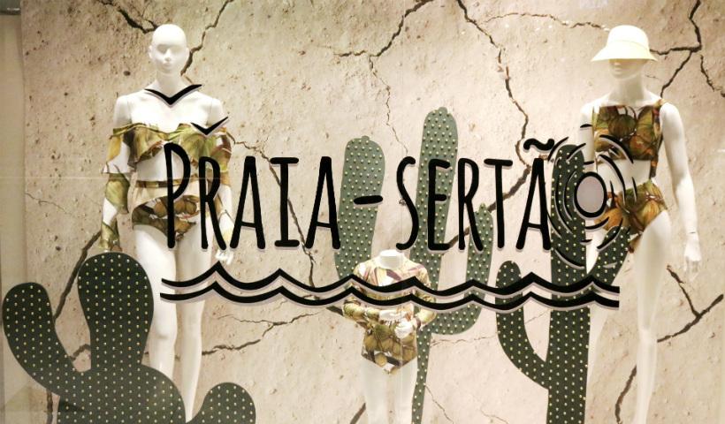 Coleção Praia-Sertão da Água de Coco disponível no RioMar
