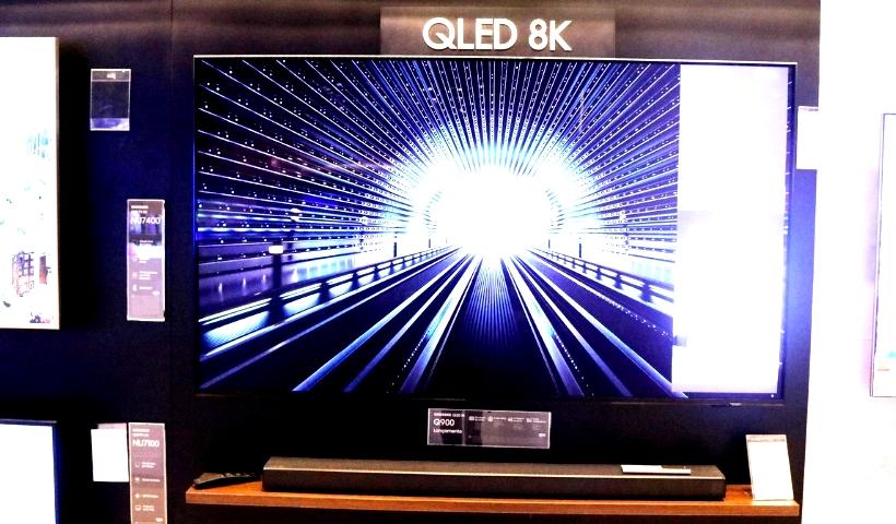 Lançamento: TV QLED 8K da Samsung já disponível no RioMar Recife