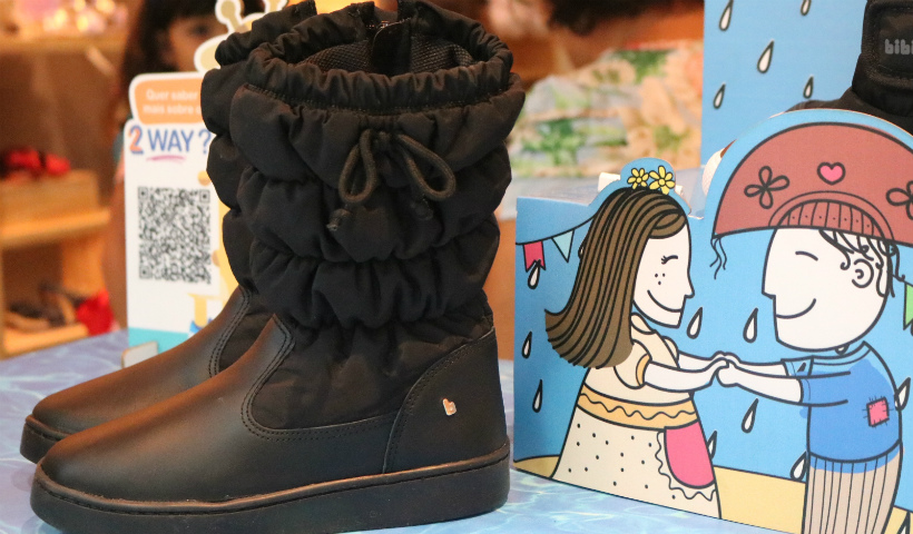 Bibi lança coleção de botas impermeáveis para a criançada