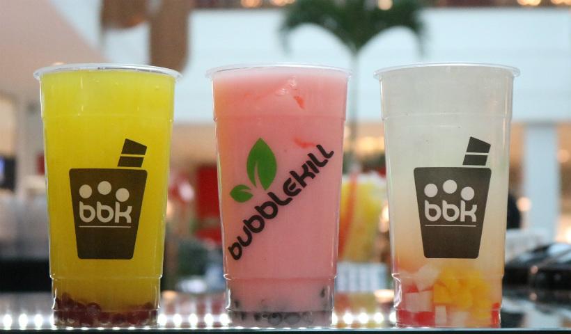 Bubblekill: sucos e chás cheios de sabores e cores