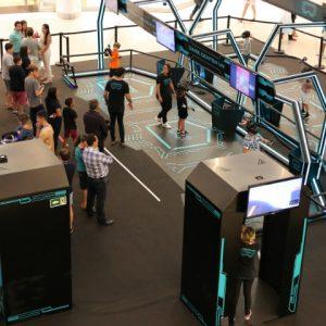 Arena Virtual Experience te leva para dentro dos games