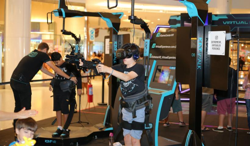 Jogos de guerra trazem muita ação na Arena Virtual Experience