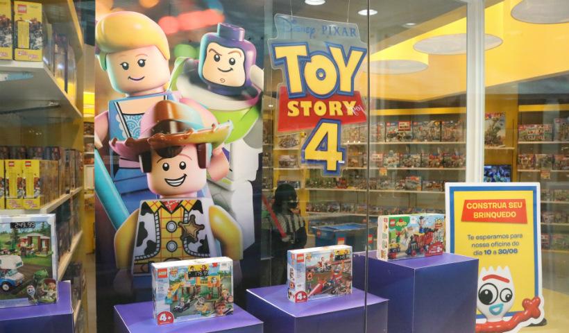 Inspirada em Toy Story, Lego oferece oficina maker para os pequenos