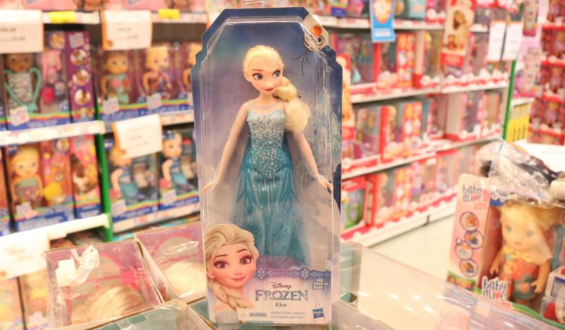 Brinquedos da Frozen conquistam os pequenos