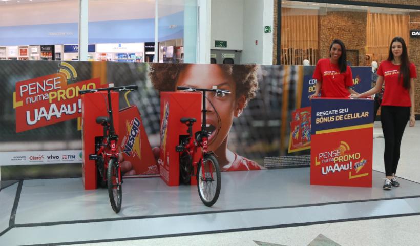 Campanha da Nescau conta com bônus e sorteios de bikes