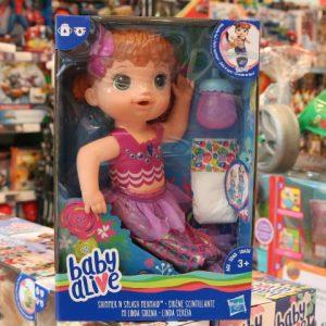 Novas bonecas Baby Alive conquistam a criançada