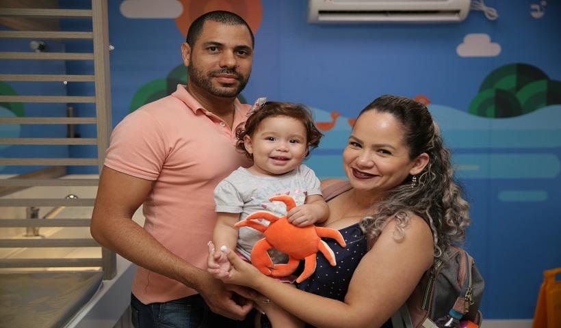 Clientes são presenteados com o Caranguejo Saçá no Espaço Família