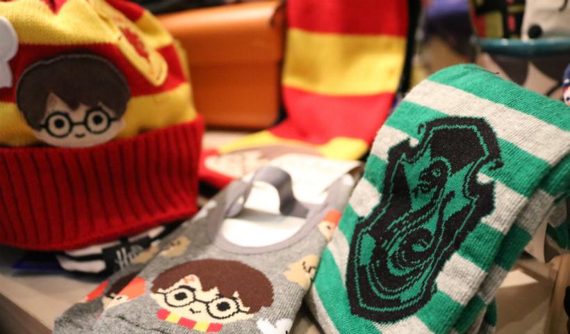 Harry Potter estampa coleção da Puket