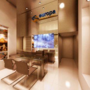 Europa Câmbio parcela compra de moeda estrangeira no cartão