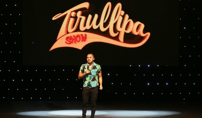 Humor garantido com show de Tirullipa no Teatro RioMar