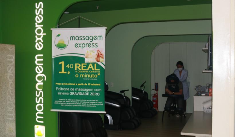 Massagem Express traz serviços para você relaxar