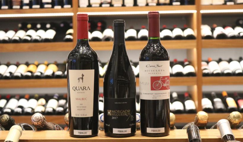 Seleção especial de vinhos para o Dia dos Pais até R$ 70