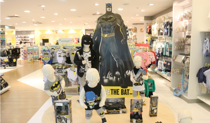 """Long Live The Bat"" é a nova coleção da Ri Happy Baby"