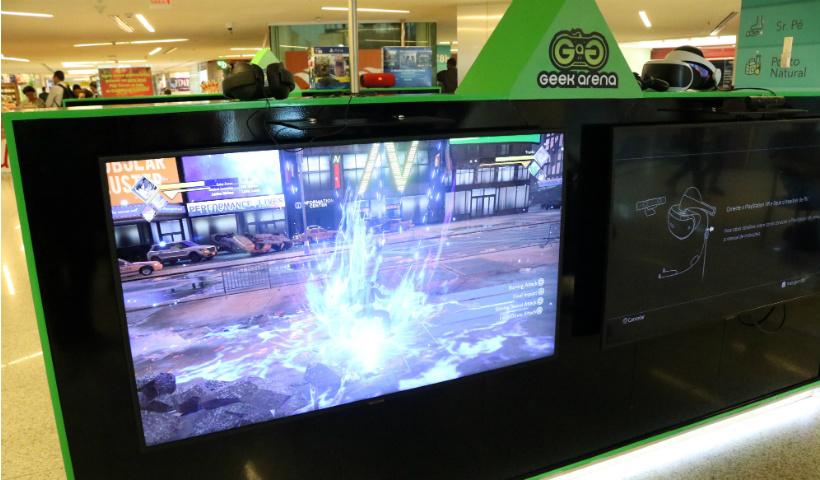 Arena Geek Gamer oferece jogos para todas as idades