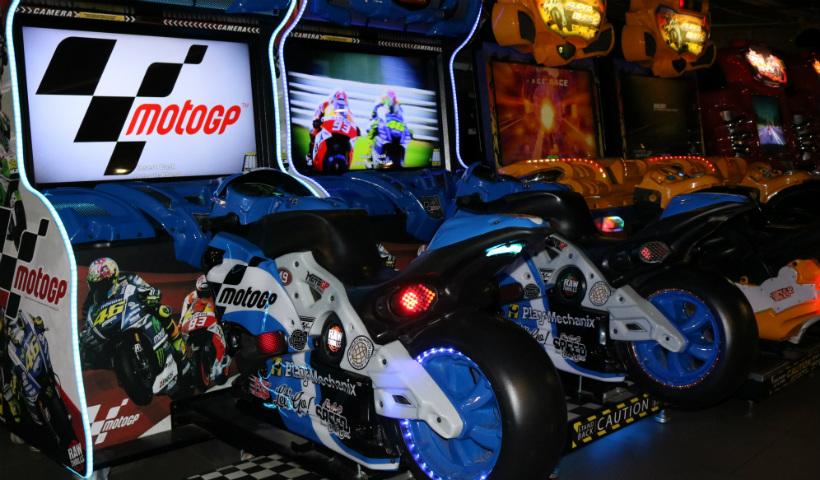 Moto GP é o novo brinquedo de corrida no Game Station