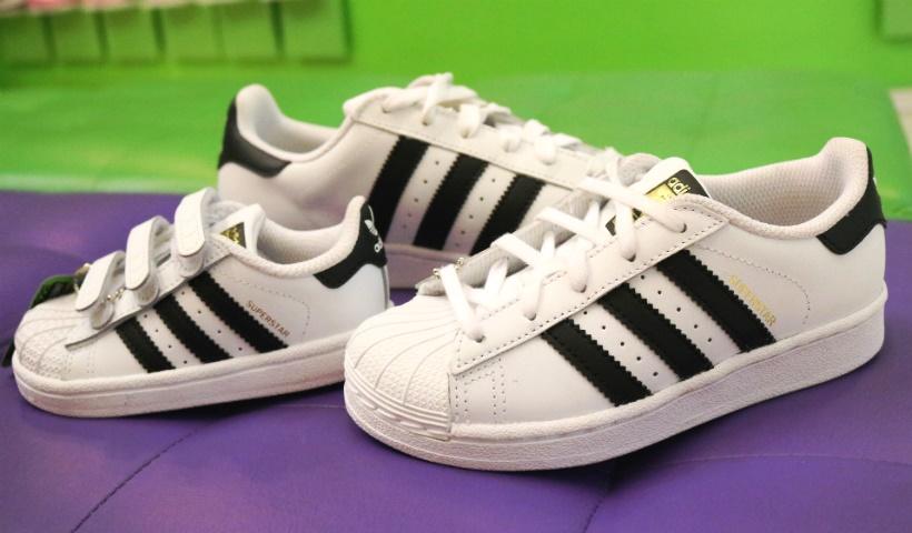 Tênis infantis da Adidas são destaque na Magic Feet
