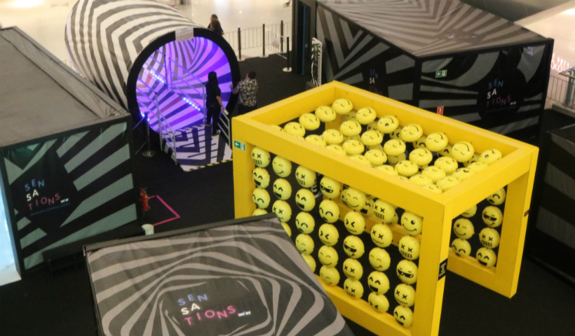 Sensations convida para desafio no Labirinto de Espelhos