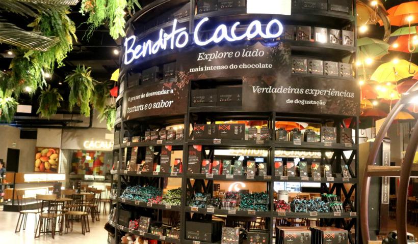 Chocolate mais intenso com a Linha Bendito Cacao da Cacau Show