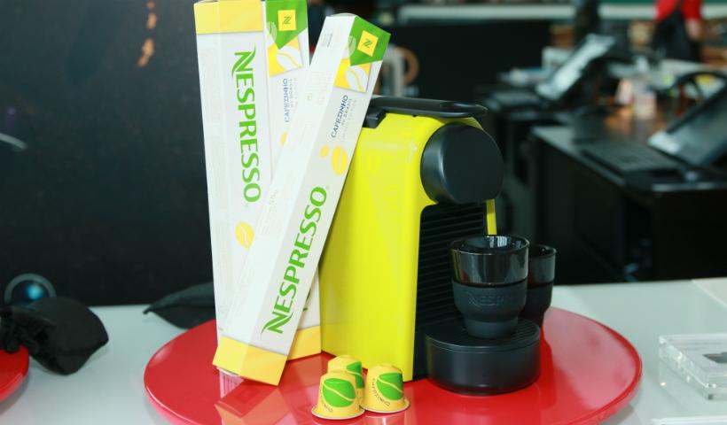 """Conheça o """"Cafezinho do Brasil"""" edição limitada da Nespresso"""