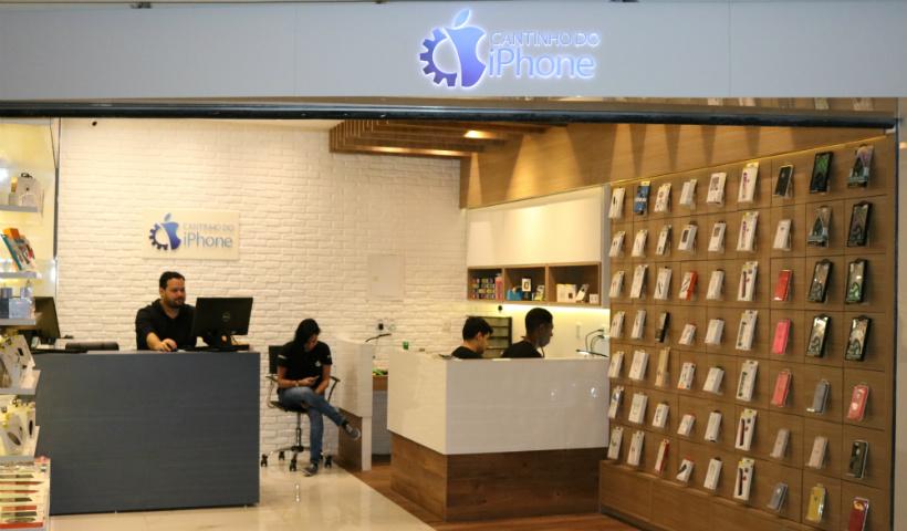 Cantinho do iPhone chega ao RioMar com diferentes serviços e acessórios
