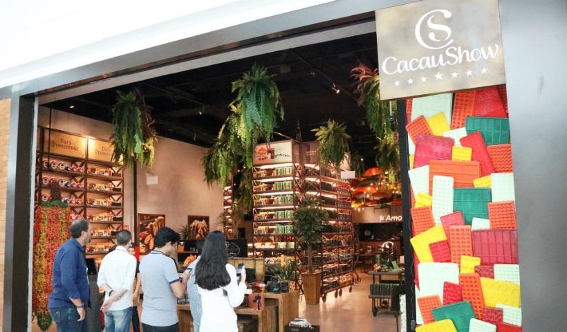 Cacau Show Mega Store inaugura novo conceito de experiência