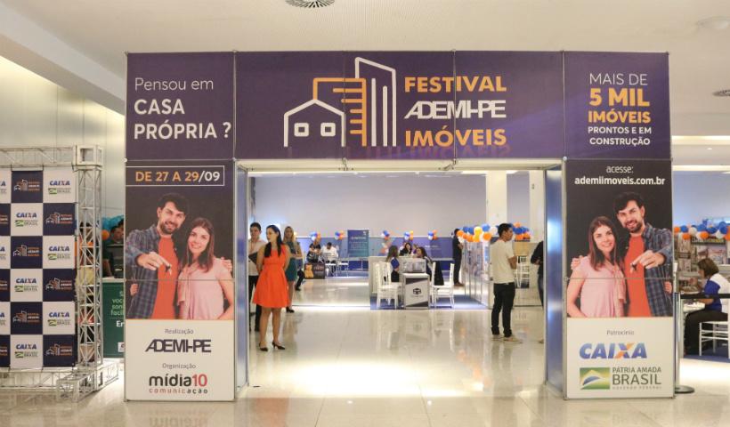 Festival da Ademi-PE, com mais de 5 mil imóveis, no RioMar Recife