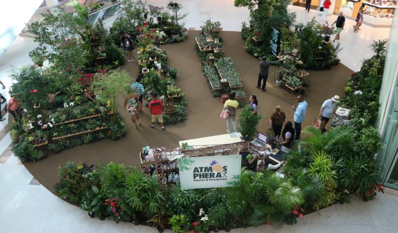 """""""Atmosphera: Plantas & Paisagismo"""": feira chega ao RioMar"""