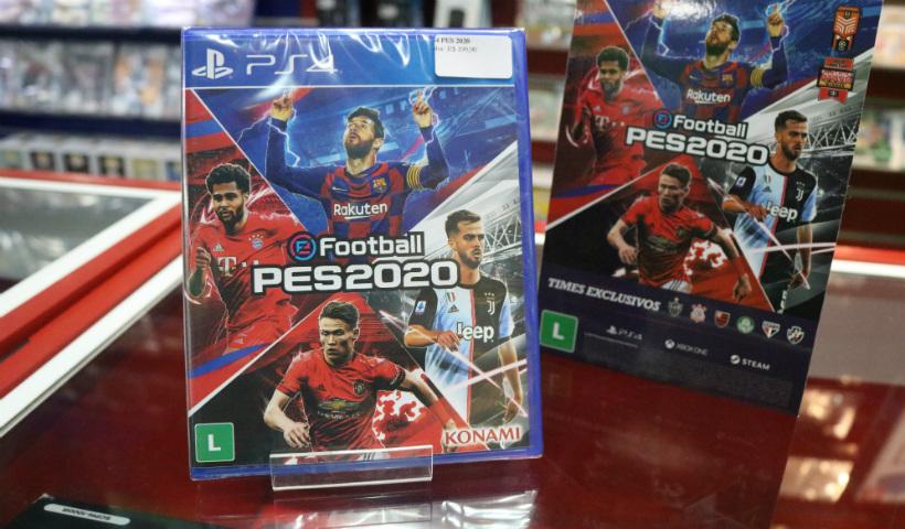 Rival do FIFA, PES 2020 também chega ao RioMar