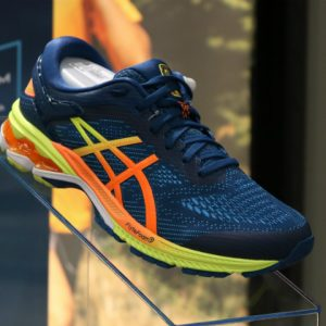 Para os corredores de plantão, novo tênis da Asics é destaque