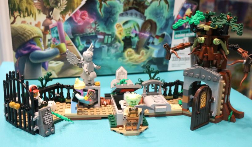 Nova linha Hidden Side da Lego com realidade aumentada
