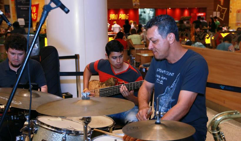Música e lazer com o Arte na Praça RioMar