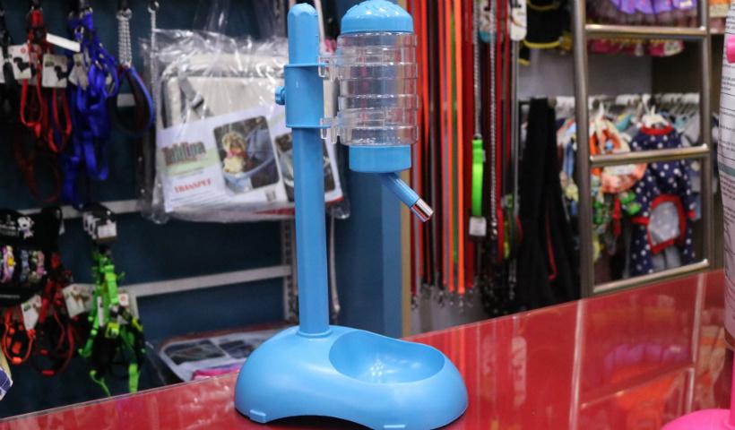 Bebedouro automático para os pets na Cão Q Ri